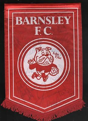 BARNSLEY FC  Signed Pennant early 90'sFREE POST UK