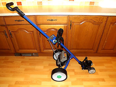 HillBilly Battery Powered Motorized Electric Collapsible Golf Trolley Golfing