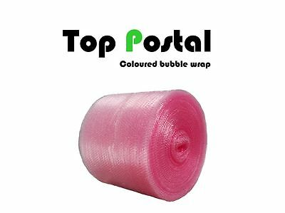 PINK 10m roll 300mm SMALL BUBBLE WRAP QUALITY ANTI STATIC !