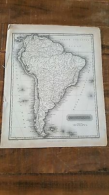 SOUTH AMERICA - Antique Map, Circa 1817 by A. Constable & Co, Edinburgh