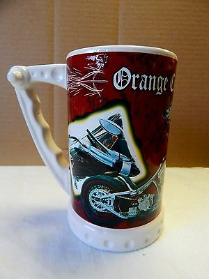 Orange County Choppers Beer Stein Mug ~ Motorcycle Collectible-