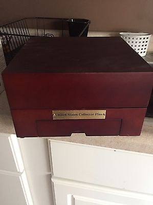 Willabee Ward State Collector pin Set In Solid Wood Box