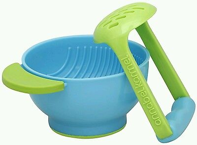 Food Masher Baby Food NUK Mash and Serve Bowl for Making Homemade Baby  Food