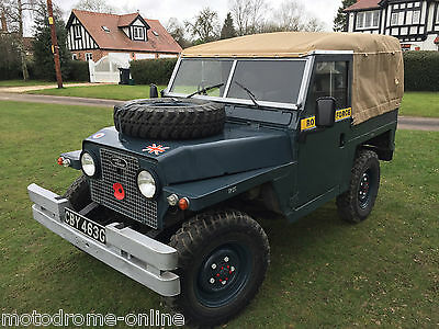 superb Land Rover Series 2A LIghtweight (Air Portable) with 4.2 V8 power!!!