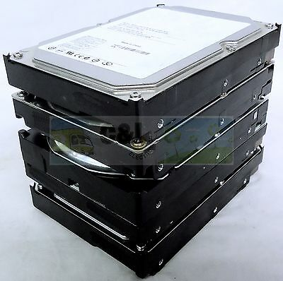 "Lot Of 5 Major Brand 200Gb Desktop Internal Sata Hard Drive 3.5"" Warranty"