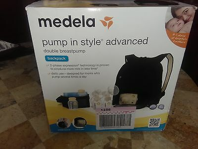 Medela 57062 Pump In Style Advanced Double Electric Breastpump Backpack Nib $269