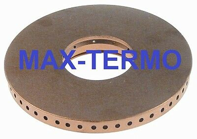 MKN burner cap E ø 114mm with central hole bore ø 2,7mm