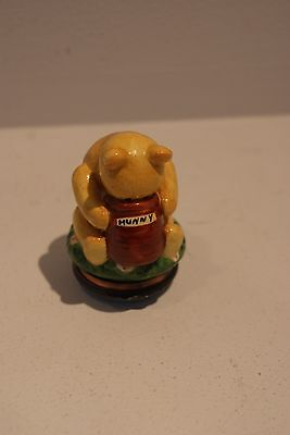 Halcyon Days Winnie the Pooh Hunny Pot Numbered Edition Trinket Ring Box Rare