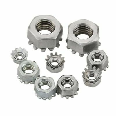 304 Stainless Steel Keps K Lock Nut UNC 6#-32 8#-32 & M3 M4 M5 M6 M8
