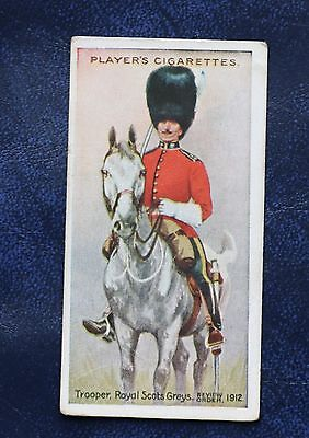 Players, Regimental Uniforms,brown Back,cigarette Card,# 6 , Issued In 1914
