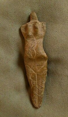 Antique idol, antique figure, stone, mother godess, Europe.