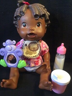 Baby Alive 2009 Baby All Gone African American w/ fun accessories!