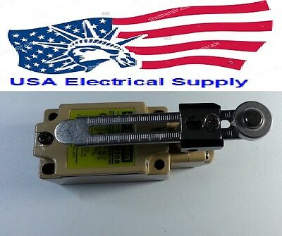 New Heavy Duty Adjustable Roller Lever Arm Limit Switch Model MJ-7108