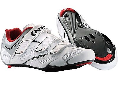 Chaussures vélo route neuves Northwave Sonic 3S Blanc Pointure 41