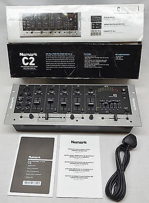 Numark C2 Five Channel Rack Dj Mixer - Boxed With Instructions