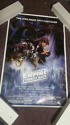 Star Wars Empire Strikes Back Original Movie Poster Rolled 1980 27X41 Style A