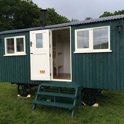 Glamping holiday short break in either a 2 or 4 berth Shepherds Hut - 2 nights