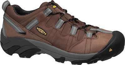 Size 7 Work Boots, Men's, Brown, Steel Toe, EE, Keen Utility