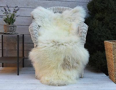 Luxury Sheepskin Rug, Throw, Blanket, Very Rare Breed Multi - Size XXXL
