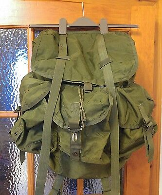 Genuine US Army Alice LC-1 Pack Olive Green Rucksack Backpack