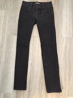"""CAbi Women's Size 0 Skinny Straight Fit Low Rise Jeans 31"""" Inseam"""