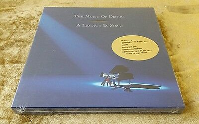 The Music Of Disney A Legacy In Song FACTORY SEALED CD Box Set 1992 Memorabilia