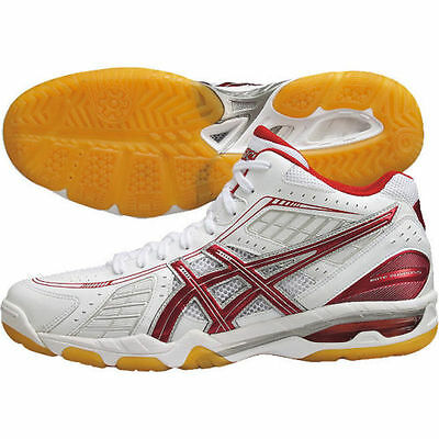 ASICS Japan Men's ROTE SURPASS 4 MT Volleyball Shoes TVR463 White Red