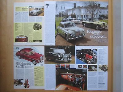 Riley Pathfinder Wolseley 6/90 15/50 & MG Magnette ZA ZB Buying Guide & Reports