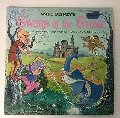 "Disney Record Disneyland ""Sword In The Stone"" ST-4901 D-R / Excellent Condition"
