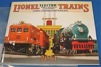 Lionel Corporation Tinplate Electric Trains MTH 2011 Catalog Mint in Wrapper