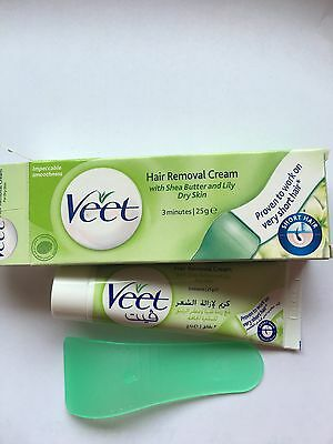 Veet Hair Removal Cream With Shea Butter And Lily Dry Skin 25G
