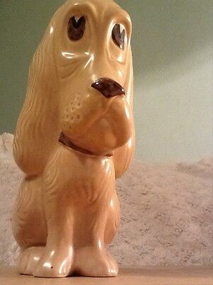 Sylvac 2951 dog with big eyes, beige china