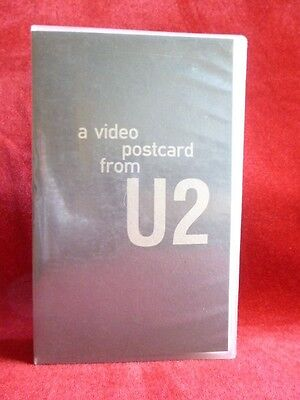 A Video Postcard From U2 1991 French Island Records Promo Secam RARE only 499