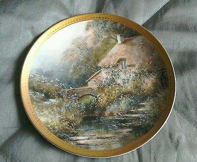 Royal Doulton Limited edition plate Brookside Cottage