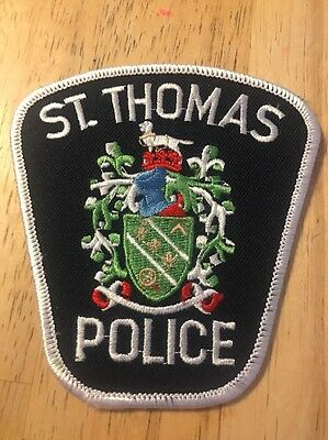 ST. THOMAS POLICE Patch Canada