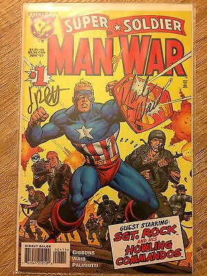 Man Of War Signed Limited Edition Comic