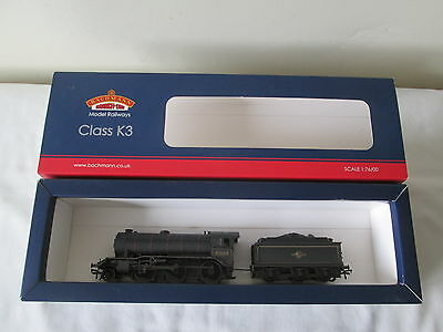 Bachmann OO Gauge 32-280 Class K3 61869 BR Black Late Crest Weathered DCC Ready
