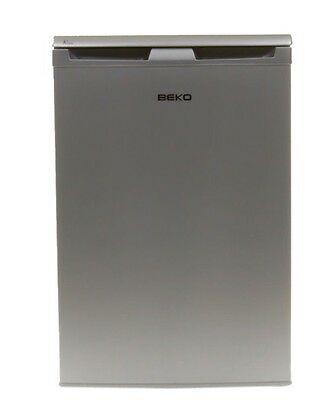 Beko Under Counter Silver Fridge With Freezer Box Very Gd Condition Collect Hd4