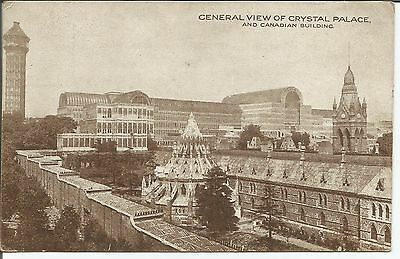 Postcard View of Crystal Palace and Canadian Building