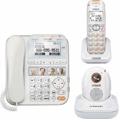 VTech SN6197 CareLine+ Home Safety Telephone System, with Safety Pendant