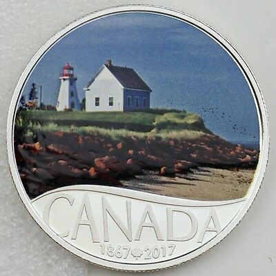 2017 $10 Celebrating Canada's 150th Coin Series: Panmure Island Pure Silver Coin