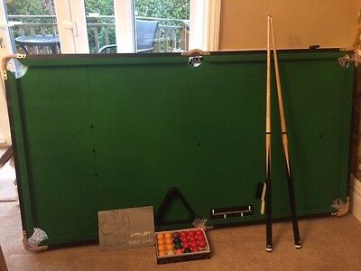 Riley 6Ft Rolling Lay Flat Snooker Table