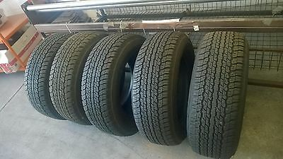 Dunlop Grandtrack 265/65R17 112 T x 4 Tyres  95 % Tread & 1 Spare Brand New