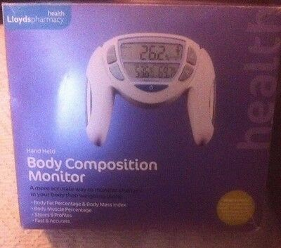 lloyds health pharmacy body composition monitor