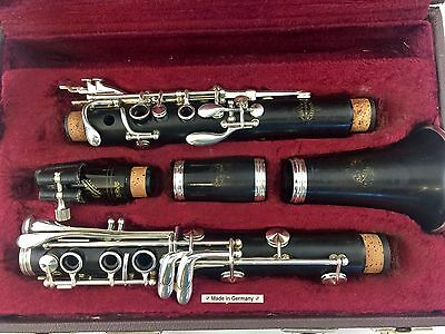 Beautiful Buffet Germany E-11  E11 Wood Clarinet !!! Plays Great! New Pads
