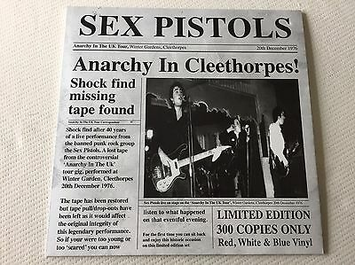Sex Pistols - Anarchy In Cleethorpes - Rare White Vinyl Lp, Live 1976, Ltd 100