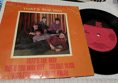 The Honeycombs   Thats The Way Ep  1963