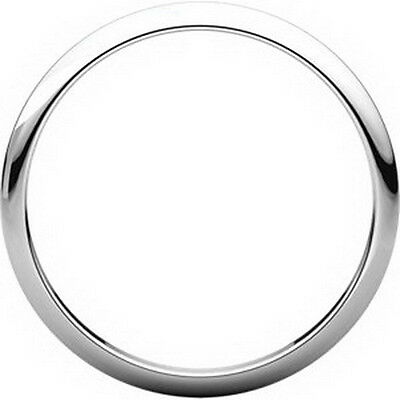 Continuum Sterling Silver 2mm Half Round Band ST