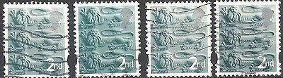 GB Country Definitives - England - Pictorial Issue (Lot #315)