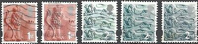 GB Country Definitives - England - Pictorial Issue (Lot #314)